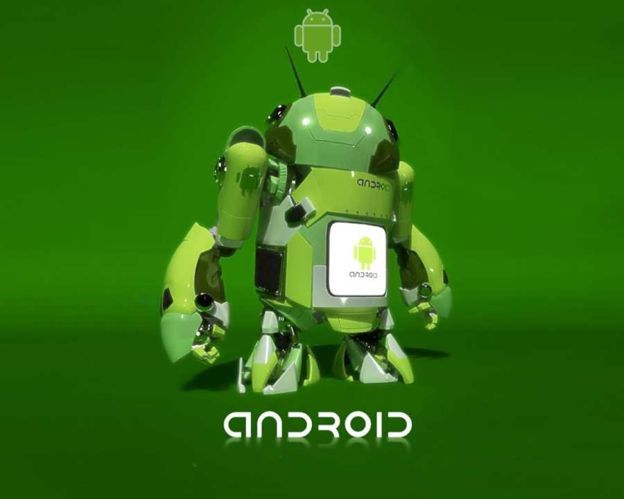 3D Android Wallpaper HD Green Blackground Free Download