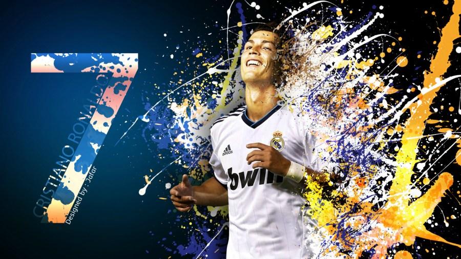 Free Download Cristiano Ronaldo Number Seven Wallpaper Image