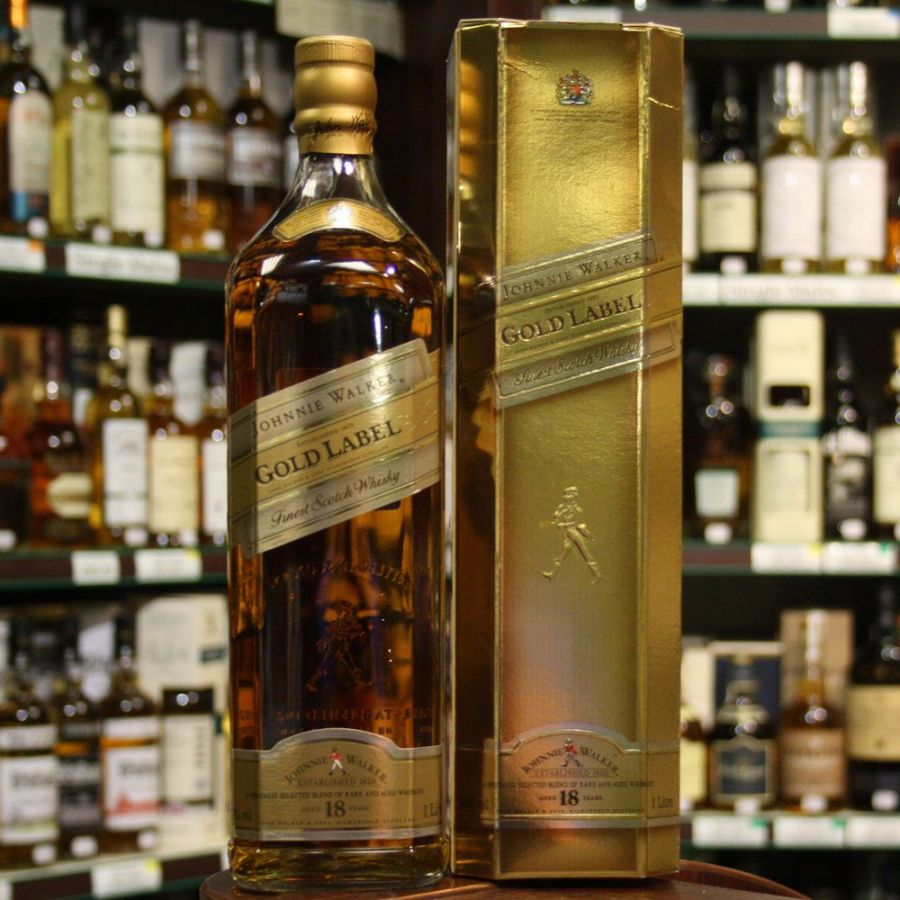 Johnnie Walker Gold Label 18 Year Old Photo And Picture