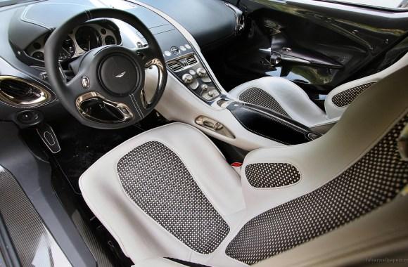Aston Martin One 77 Interior Photo Picture HD Wallpaper