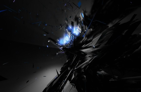 Awesome Dark Abstract Wallpaper HD Widescreen Free