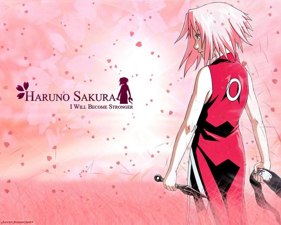 Haruno Sakura Anime Manga HD Wallpaper Background