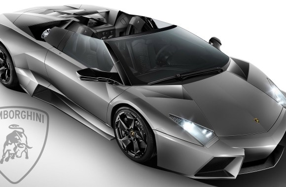 Lamborghini Reventon Roadster Wallpaper HD Grey Color