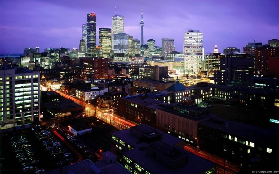 City When Night Architecture Photography HD Wallpaper Desktop