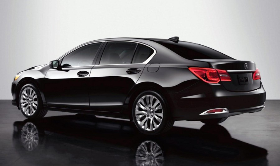 Awesome Black Acura RLX Sedan Hybrid Cars Photo And Picture Sharing