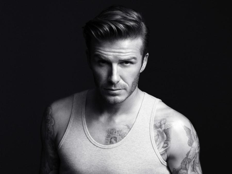 David Beckham 2013 Hairstyle Best HD Wallpaper Widescreen Desktop