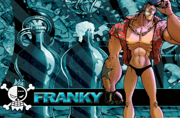 Franky Jolly Roger HD Wallpaper One Piece Anime Manga Widescreen