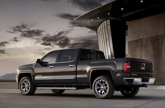 Black GMC Sierra 1500cc Automotive 2014 Photo Picture Free Download