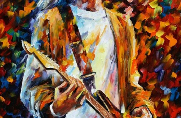 Amazing Kurt Cobain Original Art Picture Image HD Wallpaper