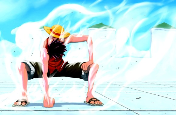 Amazing Monkey D Luffy Gear Second One Piece Pictures HD Wallpaper
