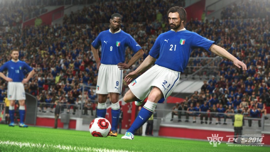Freekick On PES 2014 The Sport Game HD Wallpaper Image Picture