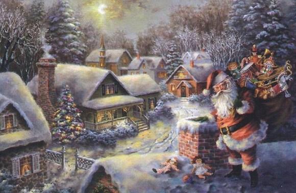 Beautiful Best HD Wallpaper Image Widescreen Of Santa Claus