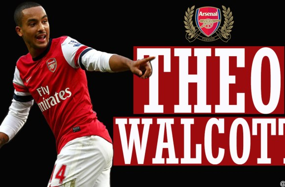 Theo Walcott Football Player For Arsenal Photo Picture HD Wallpaper