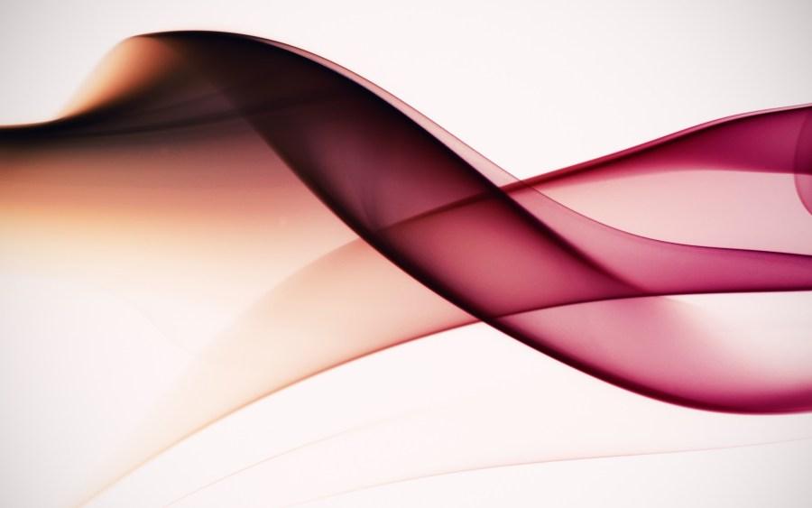 Beautiful Abstract White Pink Smoke HD Wallpaper Image For PC Desktop