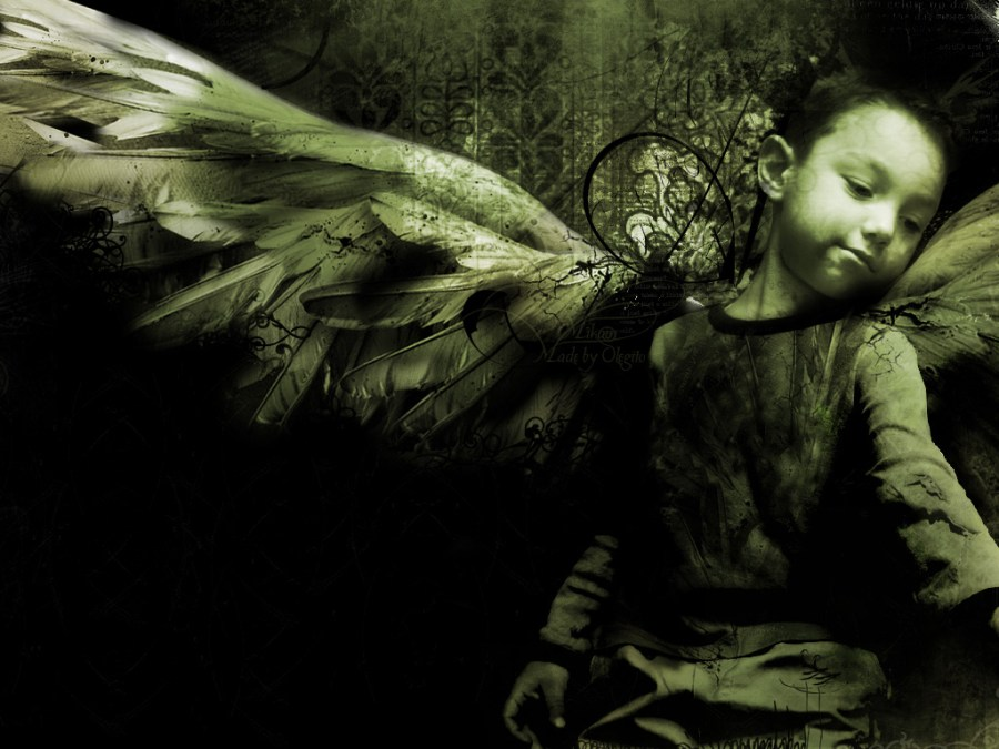 Child Dark Anngel HD Wallpaper Widescreen Picture For PC Computer