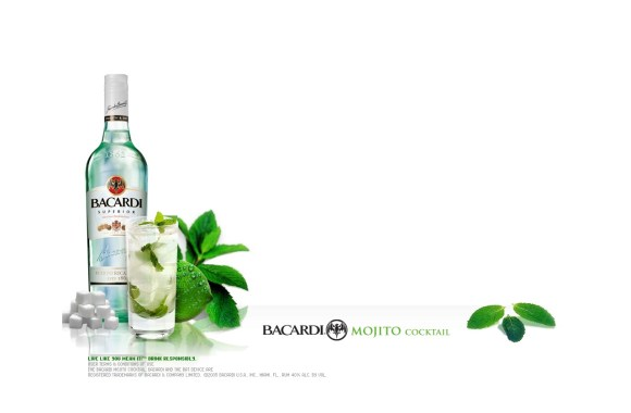 Free Download Bacardi Mojito Cocktail Drink Picture HD Wallpaper Image
