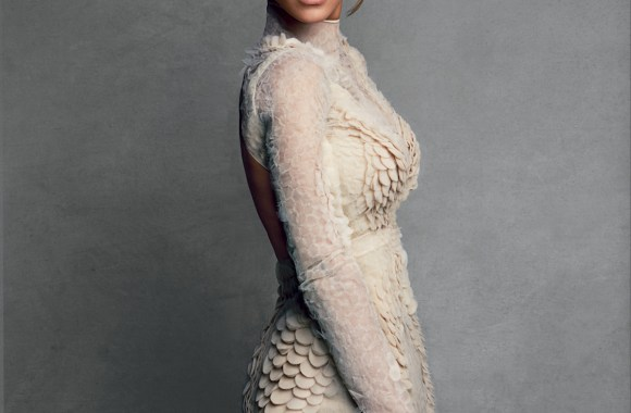 Awesome Beyonce With White Dress Photo And Picture Sharing