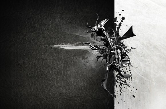 Abstract Black And White HD Wallpapers Images Pictures Desktop Gallery