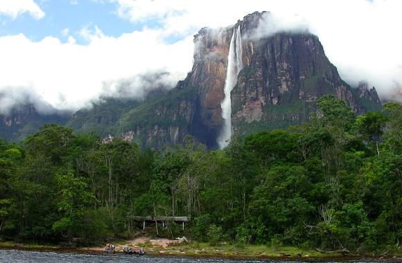 Angel Waterfall Nature Venezuela Photo And Picture Sharing