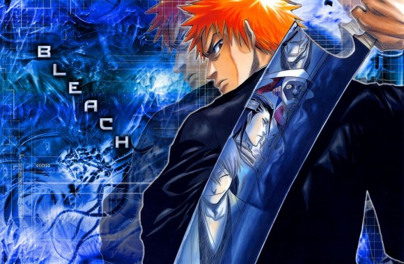 Bleach Blue Background HD Wallpaper Image For PC Desktop