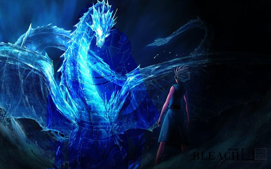 Blue Dragon Bleach High Quality In HD Wallpaper Free Download