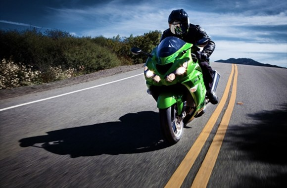 Sport Rider Kawasaki ZX 14R Full HD Wallpaper Picture Photo