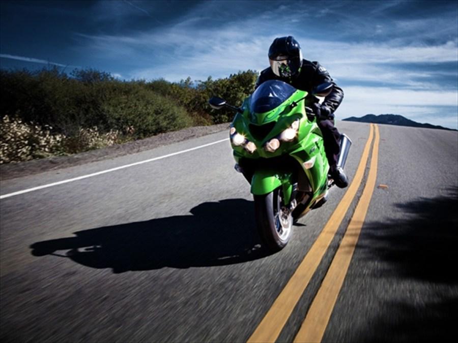 Sport Rider Kawasaki ZX 14R Full HD Wallpaper Picture Photo
