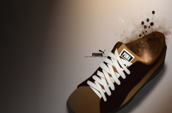 Awesome Puma Shoes Wallpaper Picture Image Background Free