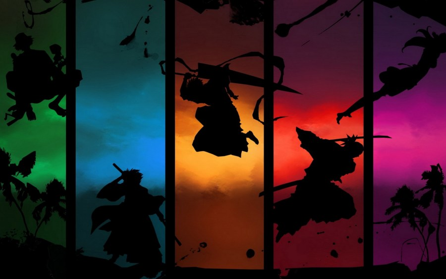 Colorful Bleach Manga HD Wallpaper Image For Your PC Desktop