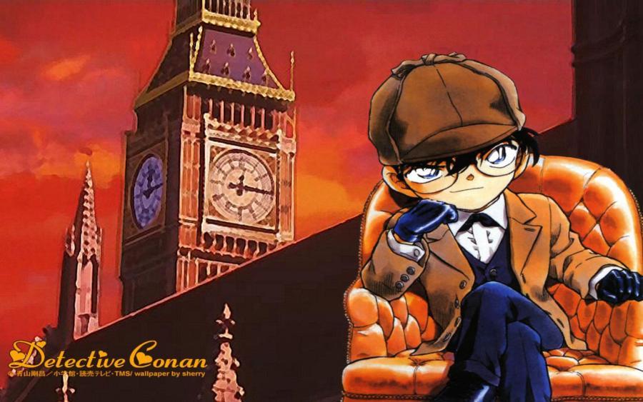 Conan Edogawa Like Shelock Holmes Picture HD Wallpaper