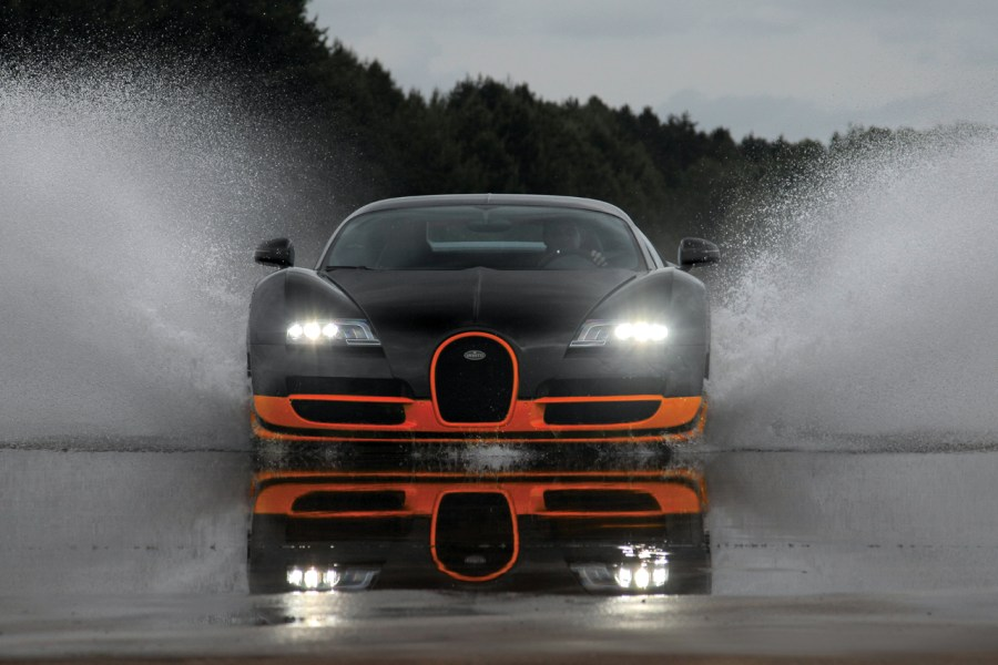 Bugatti Veyron 16.4 Super Sport Fast Cars HD Wallpaper Widescreen