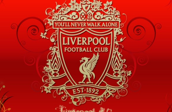 Liverpool FC Logo Big Club Big Fans The Reds HD Wallpaper Widescreen