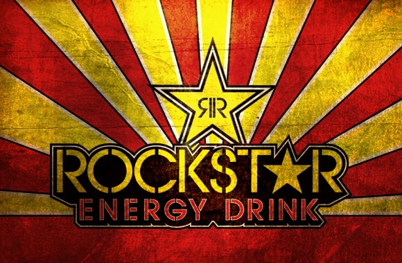 Rockstar Energy Drink Yellow Red HD Wallpaper For Your PC Desktop