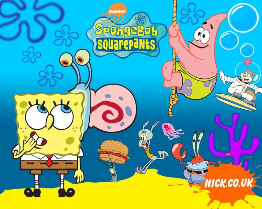 Spongebob Squarepants And Friends HD Wallpaper Picture