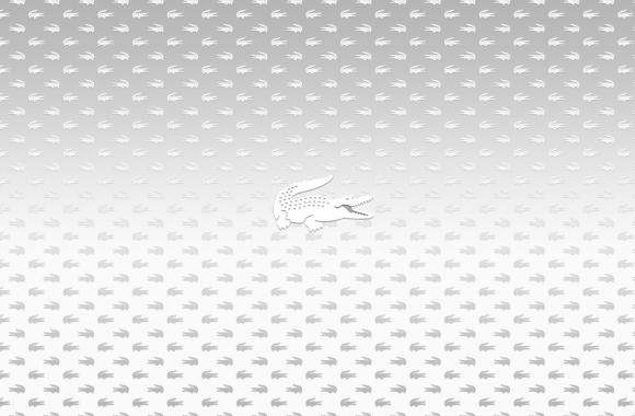 White Lacoste Logo Underwear HD Wallpaper Widescreen For PC Desktop