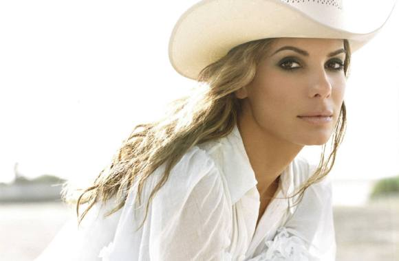 Sandra Bullock country look wallpaper