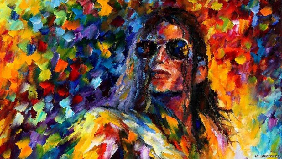 Art picture of Michael Jackson