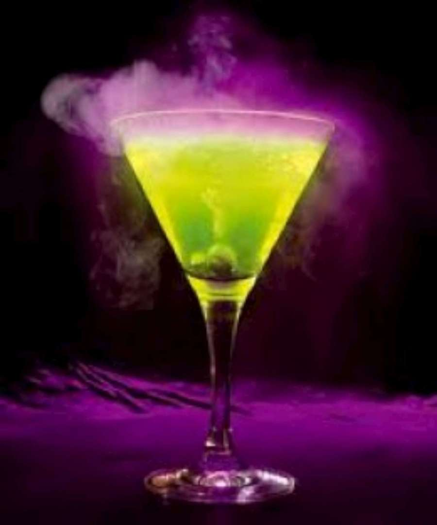 Green and Purple Drink