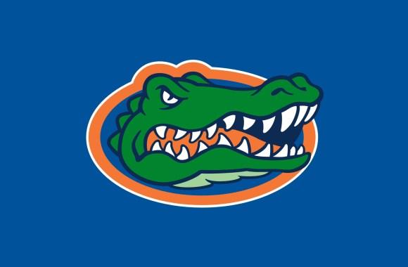 Florida University Logo HD Wallpaper