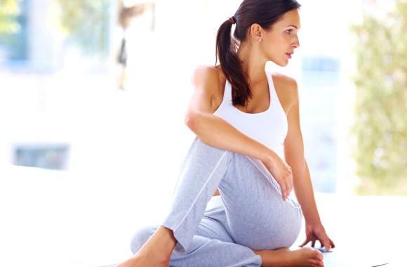 Yoga Eka Pada Upavistha Parivrttasana HD Wallpaper