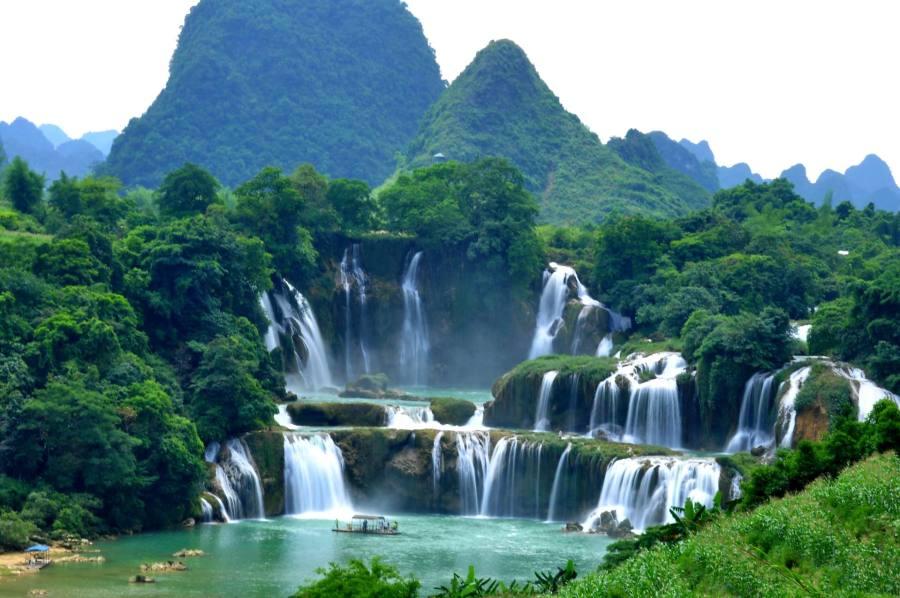 Ban Gioc Detian Falls, Vietnam