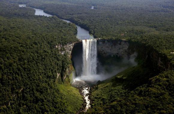 Kaieteur Falls HD Wallpaper