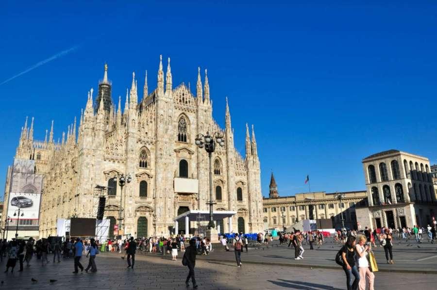 Piazza Del  Duomo, Milan-1920