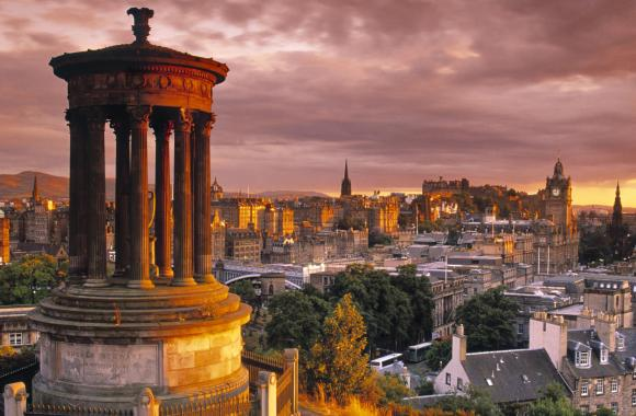 Stewart Monument Edinburgh Scotland HD Wallpaper