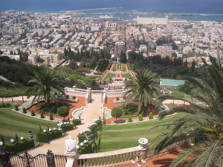 Baha'i Shrine and Gardens Haifa Israel HD Wallpaper by Wallsev.com