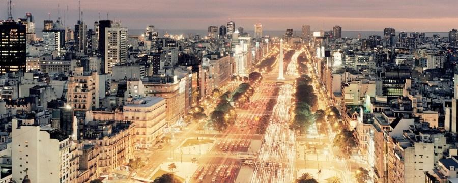 Buenos Aires Night Scene HD Wallpaper by Wallsev.com