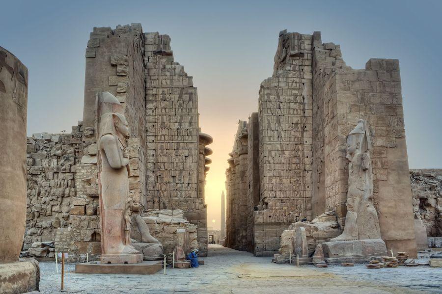 Karnak Temple Luxor Egypt HD Wallpaper by Wallsev.com