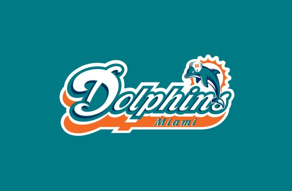 Miami Dolphins Football Logo HD Wallpaper
