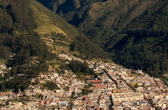 Quito Ecuador and Andes HD Wallpaper