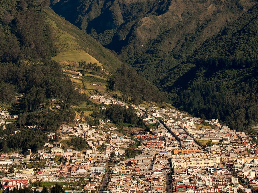 Quito Ecuador and Andes HD Wallpaper by Wallsev.com